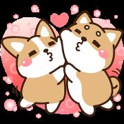 สติ๊กเกอร์ไลน์ Love You: Shibasays