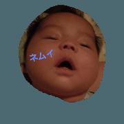 สติ๊กเกอร์ไลน์ Baby YU chan 2