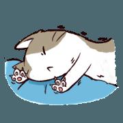 สติ๊กเกอร์ไลน์ Litter Cat