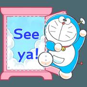 สติ๊กเกอร์ไลน์ Doraemon Message Stickers