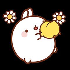 Molang ต่ายอ้วน : แจกความสุข