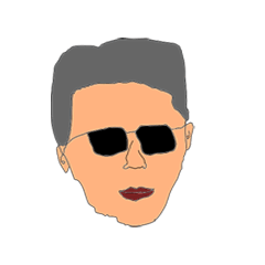 สติ๊กเกอร์ไลน์ Cool Sunglasses Man