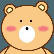 สติ๊กเกอร์ไลน์ Q wa bear