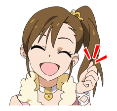 THE IDOLM@STER sticker #32779