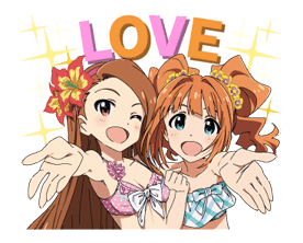 THE IDOLM@STER sticker #32792