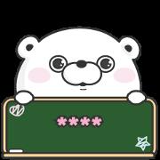 สติ๊กเกอร์ไลน์ YOSISTAMP: Bear100% Custom Stickers