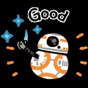 สติ๊กเกอร์ไลน์ Star Wars ลายเส้น Kanahei