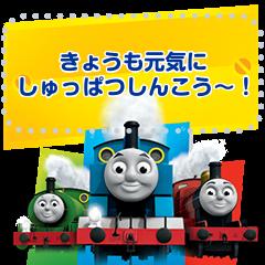 สติ๊กเกอร์ไลน์ Thomas & Friends Message Stickers