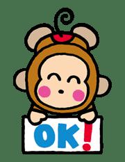 OSARUNOMONKICHI sticker #33740