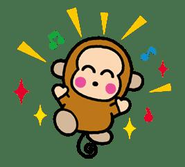OSARUNOMONKICHI sticker #33741
