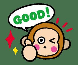 OSARUNOMONKICHI sticker #33742