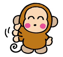 OSARUNOMONKICHI sticker #33744