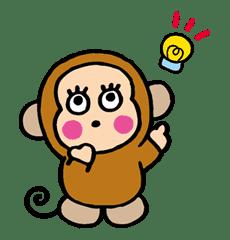 OSARUNOMONKICHI sticker #33746