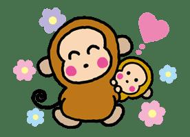 OSARUNOMONKICHI sticker #33759