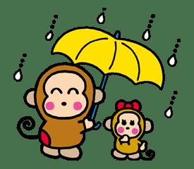 OSARUNOMONKICHI sticker #33760