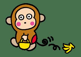 OSARUNOMONKICHI sticker #33761