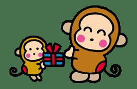 OSARUNOMONKICHI sticker #33765