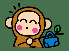 OSARUNOMONKICHI sticker #33767