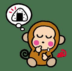OSARUNOMONKICHI sticker #33769