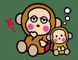 OSARUNOMONKICHI sticker #33770