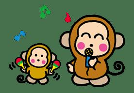 OSARUNOMONKICHI sticker #33771