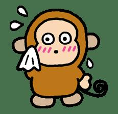 OSARUNOMONKICHI sticker #33773