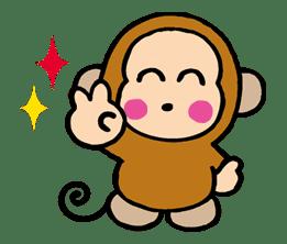 OSARUNOMONKICHI sticker #33775