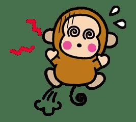 OSARUNOMONKICHI sticker #33777
