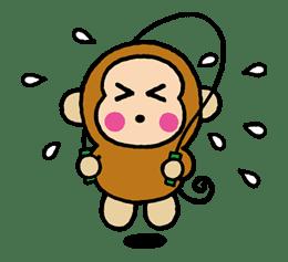 OSARUNOMONKICHI sticker #33779