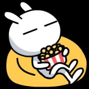 สติ๊กเกอร์ไลน์ Tuzki Animated Stickers: Daily Life