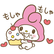 สติ๊กเกอร์ไลน์ My Melody: Sweet as Can Be! 3