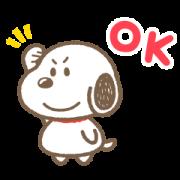 สติ๊กเกอร์ไลน์ Snoopy ตัวกลมน่ารัก♪