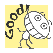 สติ๊กเกอร์ไลน์ 【artshop】แมลงสาบซุกซน (BG B02c)