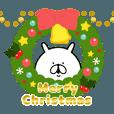 LINEスタンプランキング | ゆるうさぎ クリスマス&年末。うごく。