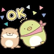 สติ๊กเกอร์ไลน์ Sumikkogurashi Kawauso and Sumikko