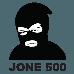 สติ๊กเกอร์ไลน์ JONE 500 V.1