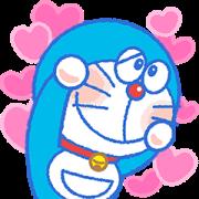 สติ๊กเกอร์ไลน์ Doraemon Moving Backgrounds