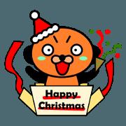 สติ๊กเกอร์ไลน์ Happy Christmas stickers