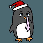 สติ๊กเกอร์ไลน์ Christmas Red-clothes Special Party