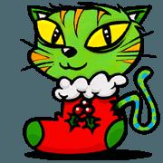 สติ๊กเกอร์ไลน์ Christmas animation sticker