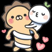 สติ๊กเกอร์ไลน์ LaiLai & ChiChi All about LOVE
