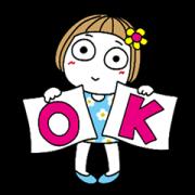 สติ๊กเกอร์ไลน์ Animated Words for Friends