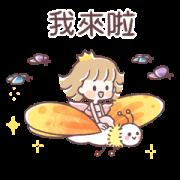 สติ๊กเกอร์ไลน์ Fairy Princess 2