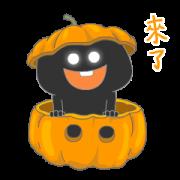 สติ๊กเกอร์ไลน์ HeyQ Party for Halloween