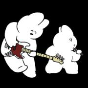 สติ๊กเกอร์ไลน์ Rabbit Rock Festival Debut