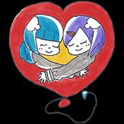 สติ๊กเกอร์ไลน์ March 11 Stickers: Children Offer Hope