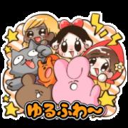 สติ๊กเกอร์ไลน์ They Speak! Yurufuwa Stickers