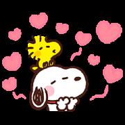สติ๊กเกอร์ไลน์ Kanahei × Snoopy