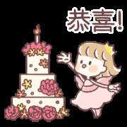 สติ๊กเกอร์ไลน์ Fairy Princess 3