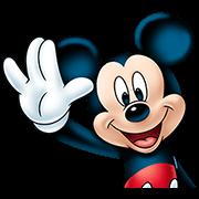 สติ๊กเกอร์ไลน์ Mickey Mouse: Trademark Smile